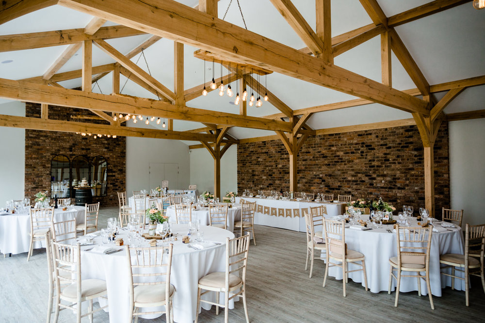Beautiful modern rustic barn at Pryor Hayes in Cheshire