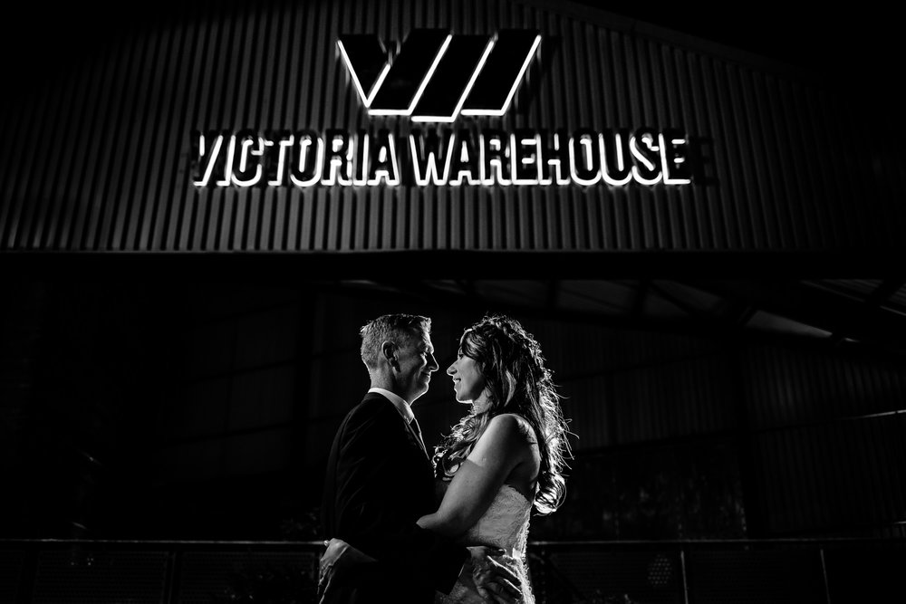 Victoria Warehouse Wedding Photographer, Manchester