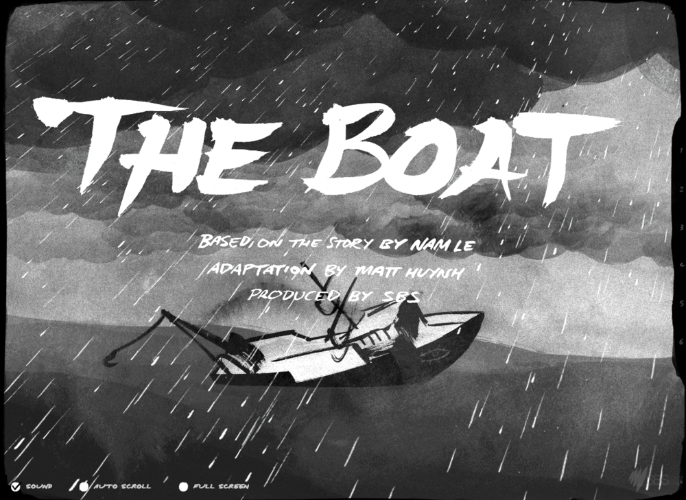 """""""This work's tremendous ambition is to have a privileged, lucky audience see themselves within the most vulnerable and desperate people: the challenge of bridging this ocean pumped this old story with emergency."""""""
