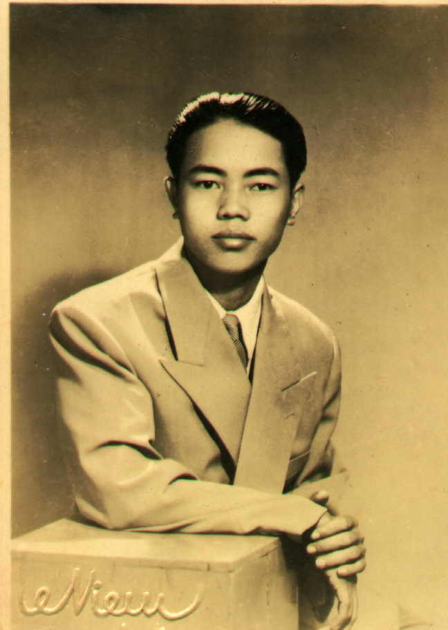 Ông Nội, when he was young.