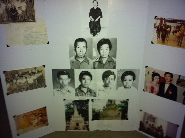 A class project documenting my mom's family, many who did not survive the Cambodian genocide.