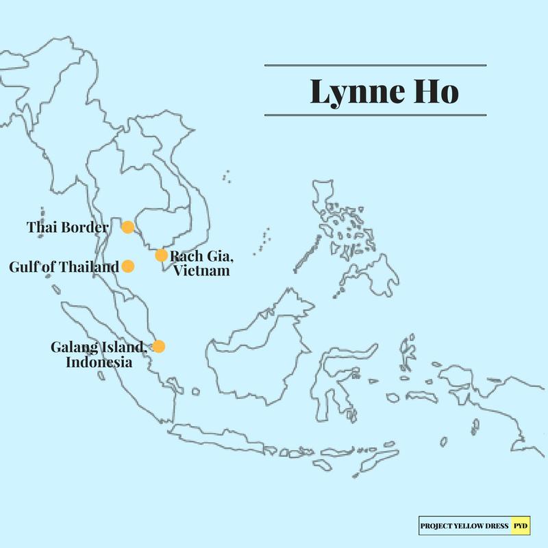 Lynne's journey through Southeast Asia.
