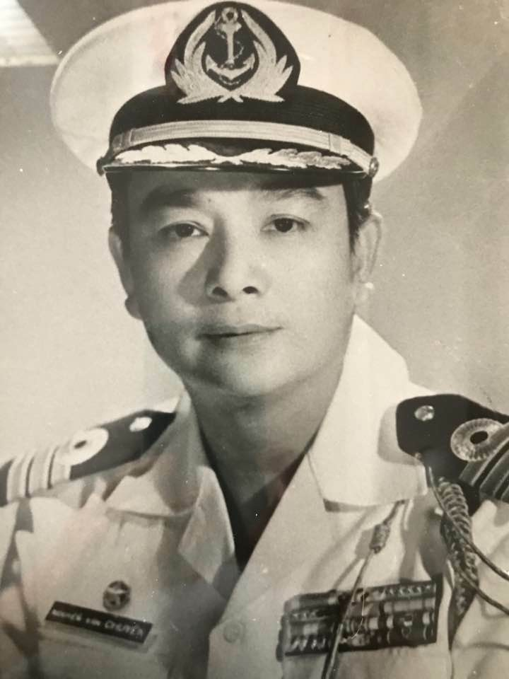 This is a photo of my dad, also taken in the 1960's. He smuggled this rare photo to America because my mom had to burn at home or throw overboard any photos providing evidence of our affiliation with the South Vietnamese Navy for fear of capture by the Viet Cong. My dad was Trung Ta (Commander) Nguyen van Chuyen from Hai Quan Khoa 7. If there are any alumni from his Naval Academy Class Khoa 7 or subsequent Class Khoa 8 or 9, I would be eternally grateful for any photos or memories about him.