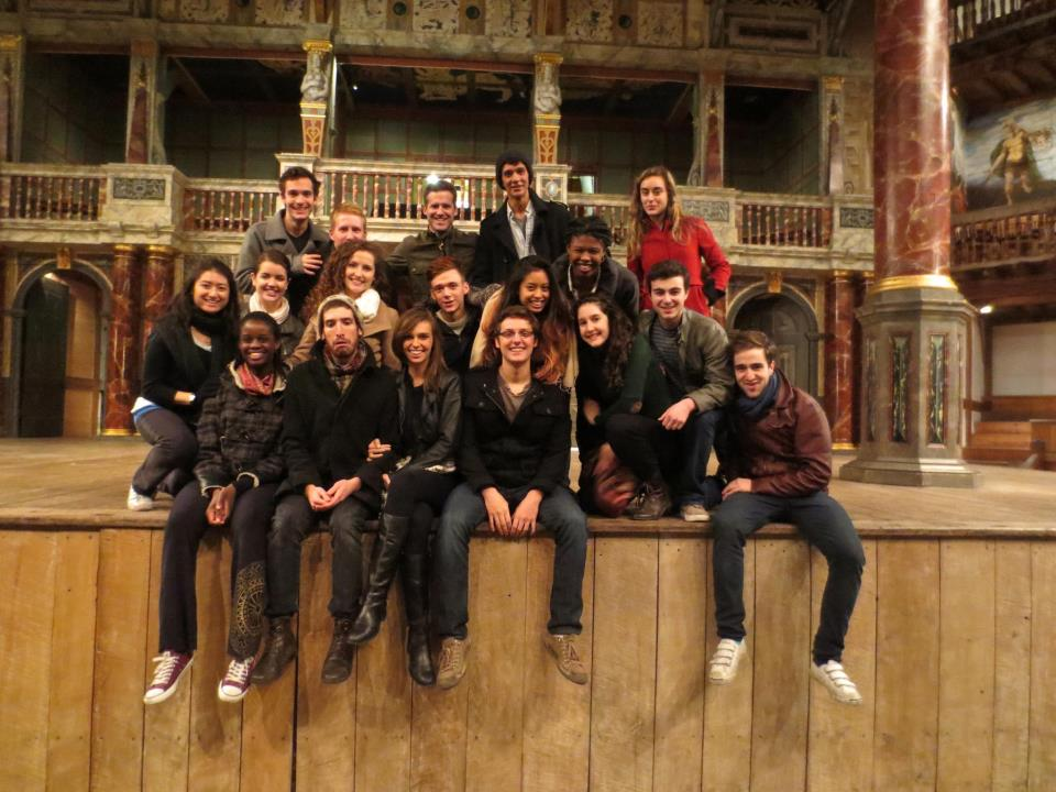 At the Shakespeare's Globe in London