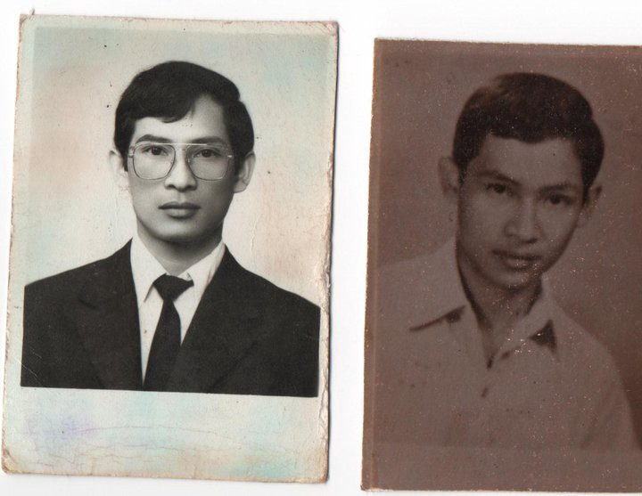 My father, Vantha Than, when he was 18 years old.