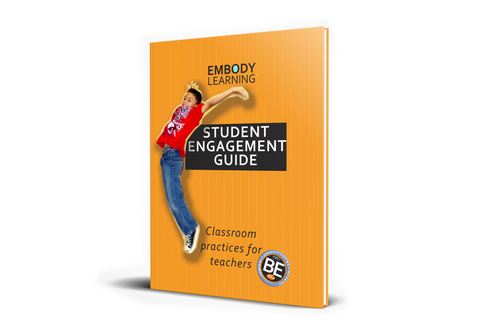 Embody Learning Student Engagement Guide - BY Julia Barwell, Donn Poll & Rick WamerClassroom practice for teachersThe Embody Learning Student Engagement Guide introduces teachers to the Embody Learning method of teaching that equips teachers to actively engage every learner in total commitment learning.Developed by visionary teachers taking bold steps to create active learning experiences in their classrooms, Embody Learning consists of techniques, methods, and tools teachers use in lessons many times each day.90 pages - Paperback - $24.95AMAZON.COM, BARNES AND NOBLE, AND YOUR FAVORITE BOOKSTORE
