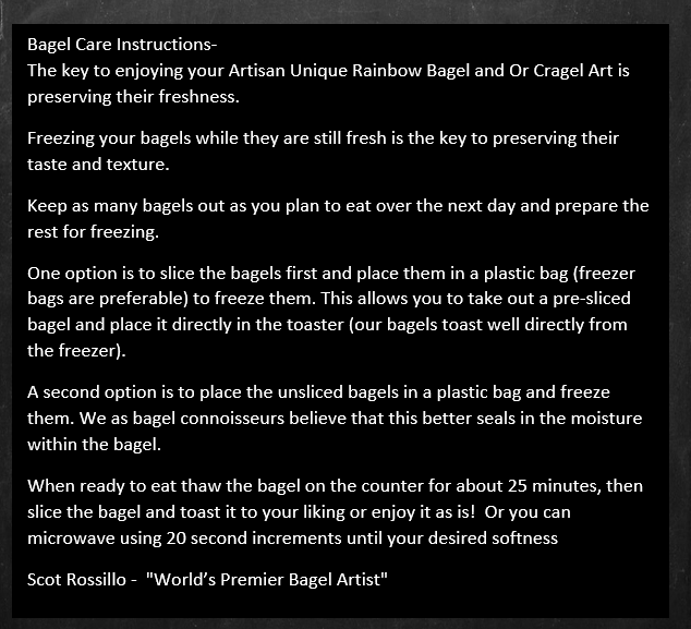 bagelcareinstructions