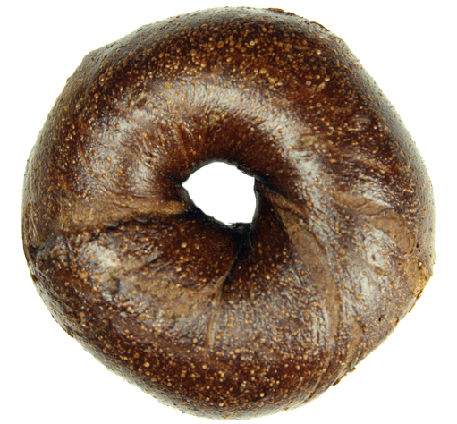Pumpernickel Bagel $1.90