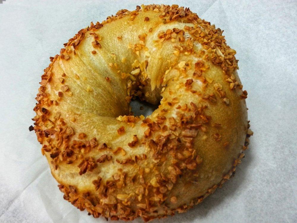 Garlic Bagel $1.30