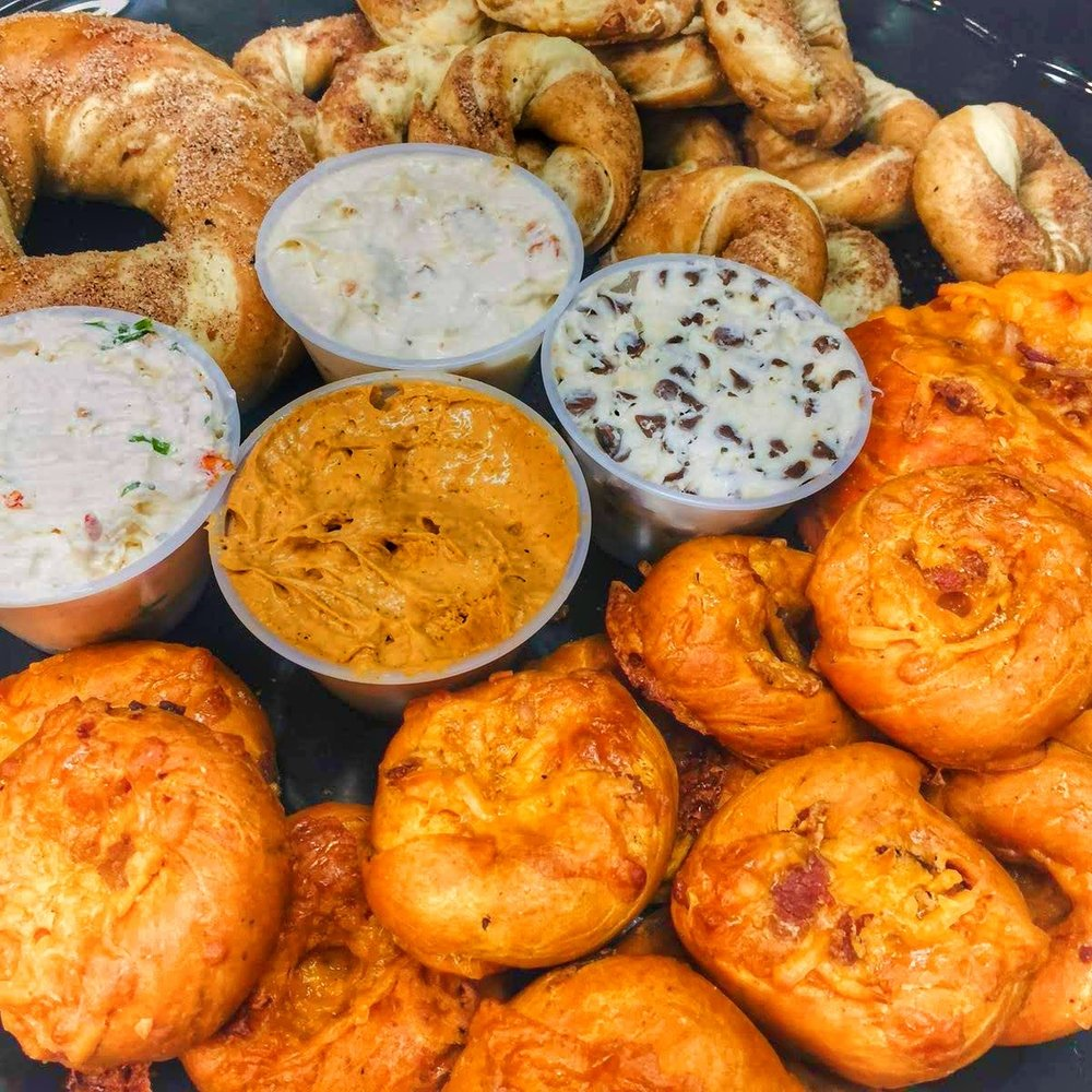 Bagel-Tizer mixed platter- we customize each order to suit your party needs!!