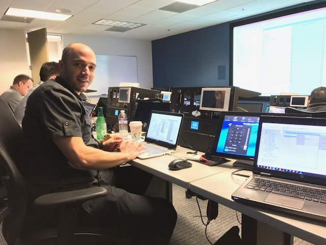 Ohm president, Chad Baldwin, at a Crestron training earlier this year.