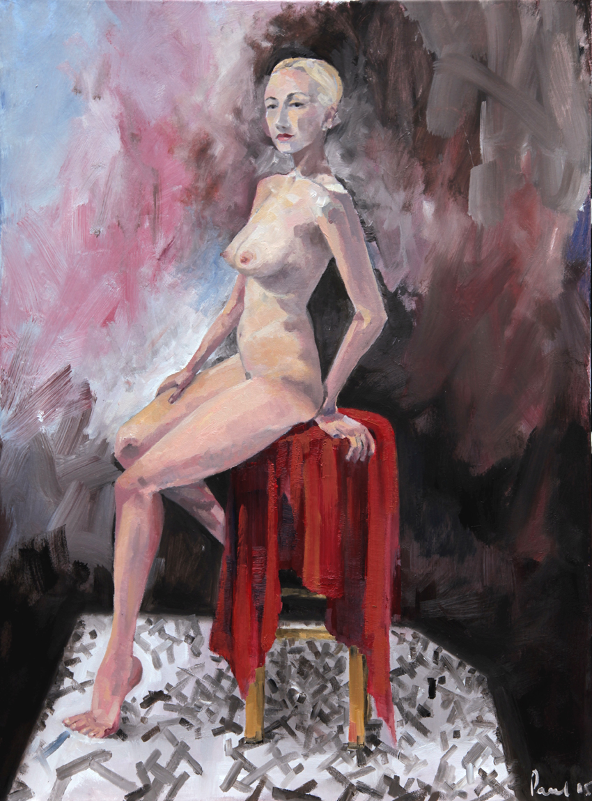 Pirate Queen 2015 | 60 x 80cm Oil on canvas Signed on front