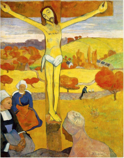 The Yellow Christ, Paul Gauguin 1889