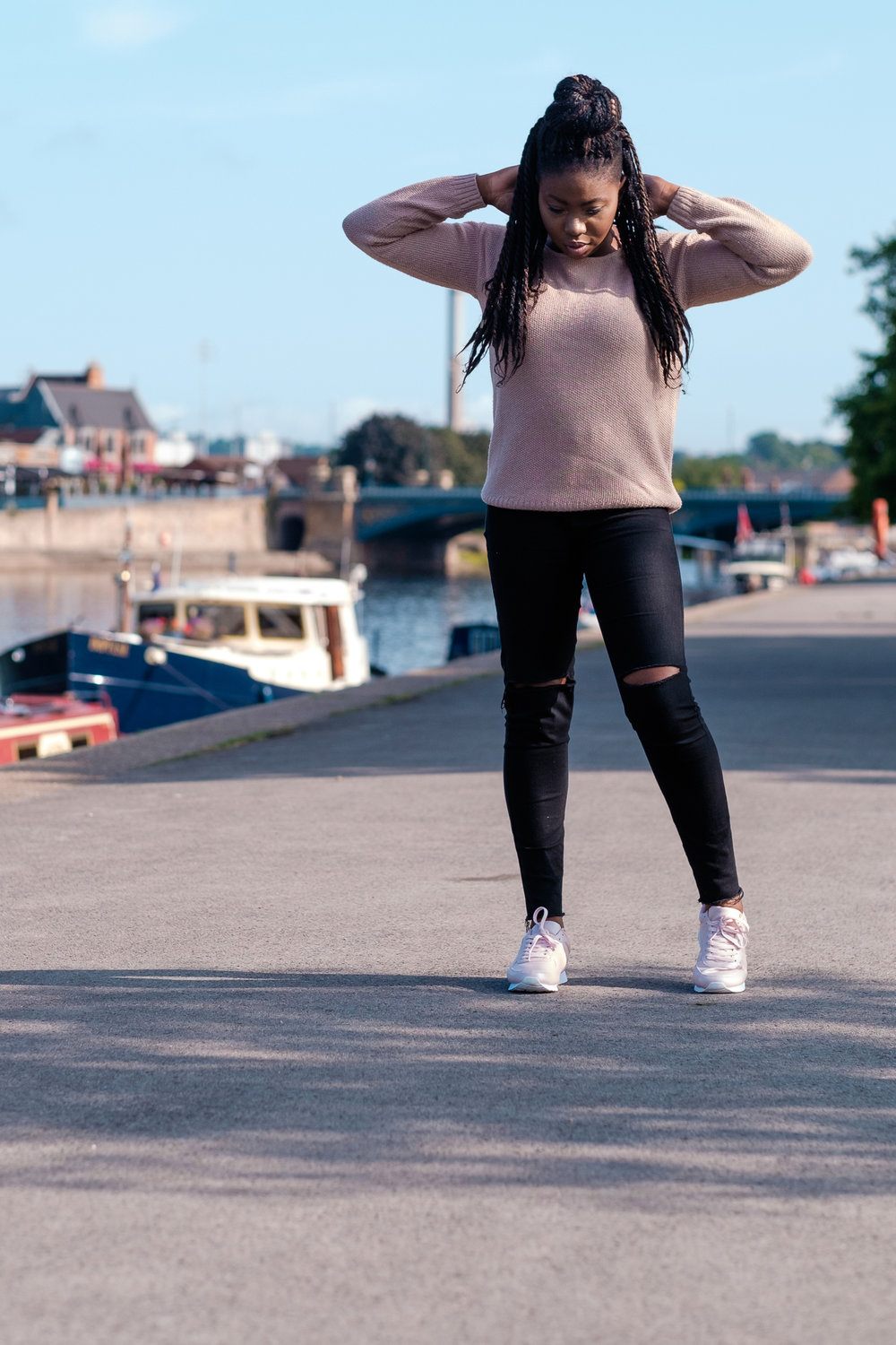 Outfit Deets- - Jumper- E5P(a while back)Jeans- ZARATrainers- NEWLOOK