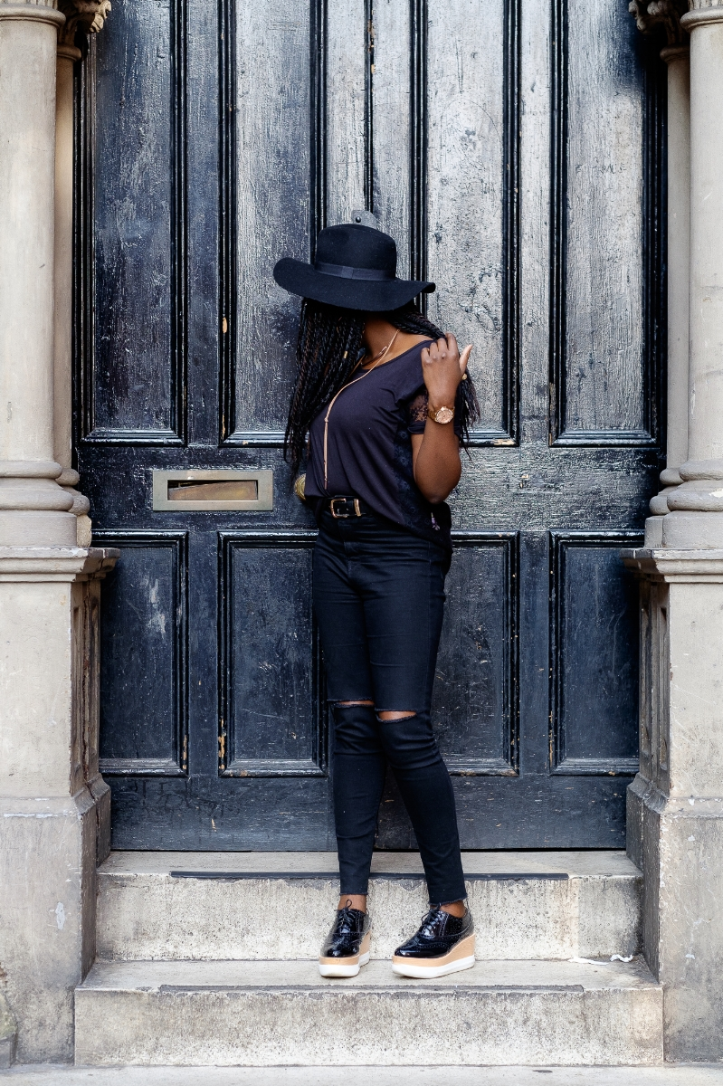 Outfit Details - Top- ( A shop in Milan)Jeans- ZaraShoes- E5PHat- MonsoonJeans- ZaraAccessories- Primark