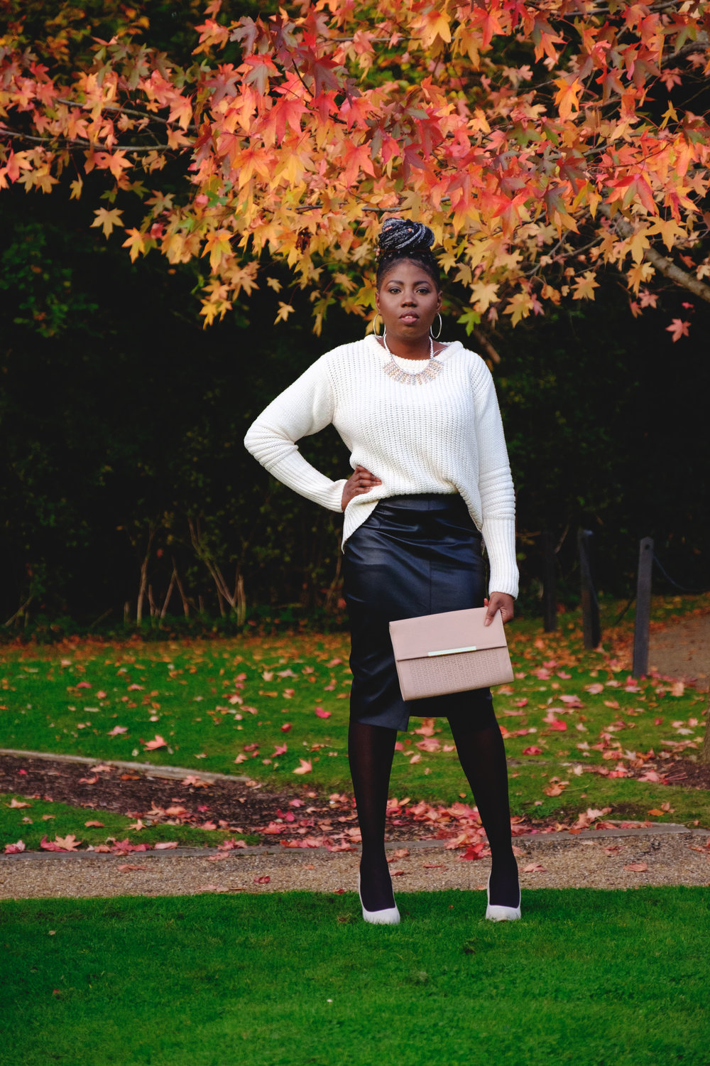 OUTFIT DETAILS - Jumper- Everything #5Skirt&Clutch- PrimarkShoes- Boohoo