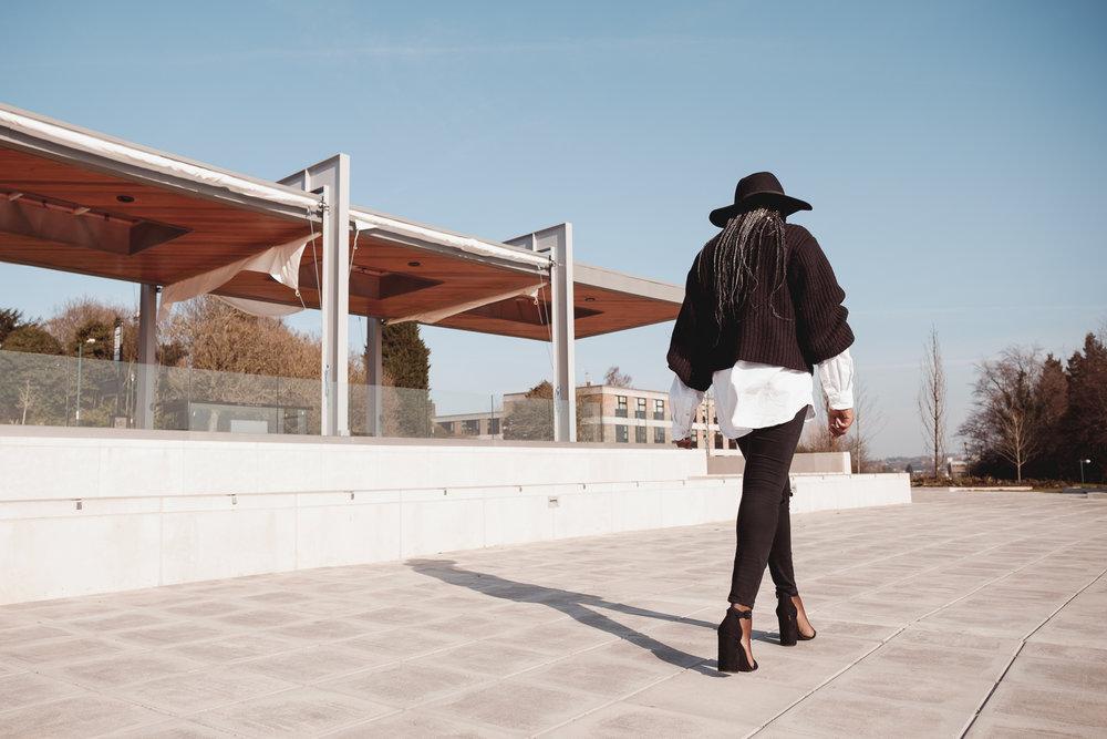 Street Style| Oversized Jumper| Style Medium