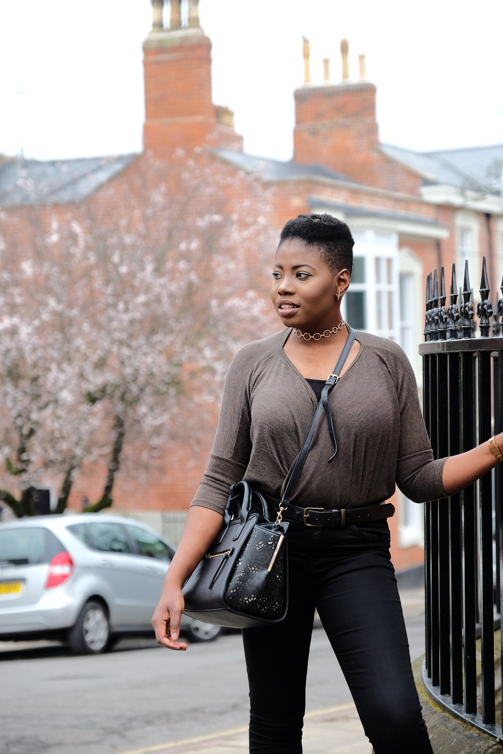 Casual Spring Outfits | Wrap Top | Style Medium
