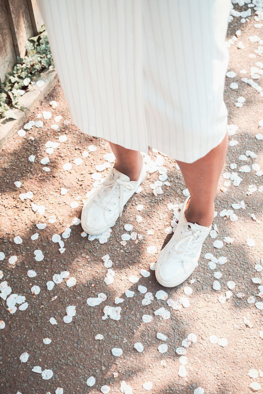 All White Summer Streetwear