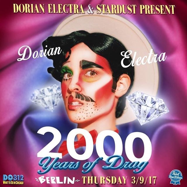 Really excited to be doing install/decor with @westongettoallen at the official 2000 Years of Drag show at Berlin tonight! @missqueensateen joins to perform as @dorianelectra and @imp_kid 's video comes to life with all the performers in the original video Imp Queen, @tyislucystoole , @evayoung_ , @thevixenbitch , @londonxjade , @doitmanny , @favdave , @imjustababy , @girlboifriend , @glamhag , @darlingshear , @faeline_gamine Posters and artwork by @westongettoallen - pic by @gregstephenreigh - special guest @uglyworldwide