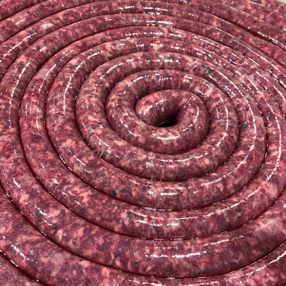 Fresh Sausage Making Class - Let us invite you into our shop, and teach you the techniques it take to make your own fresh sausage. Click on image to make your reservation