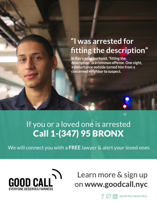 Posters we distributed and hung up at community centers and organizations