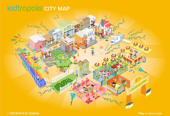 Kidtropolis City Map