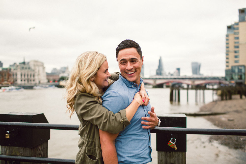 South Bank Engagement Shoot, London