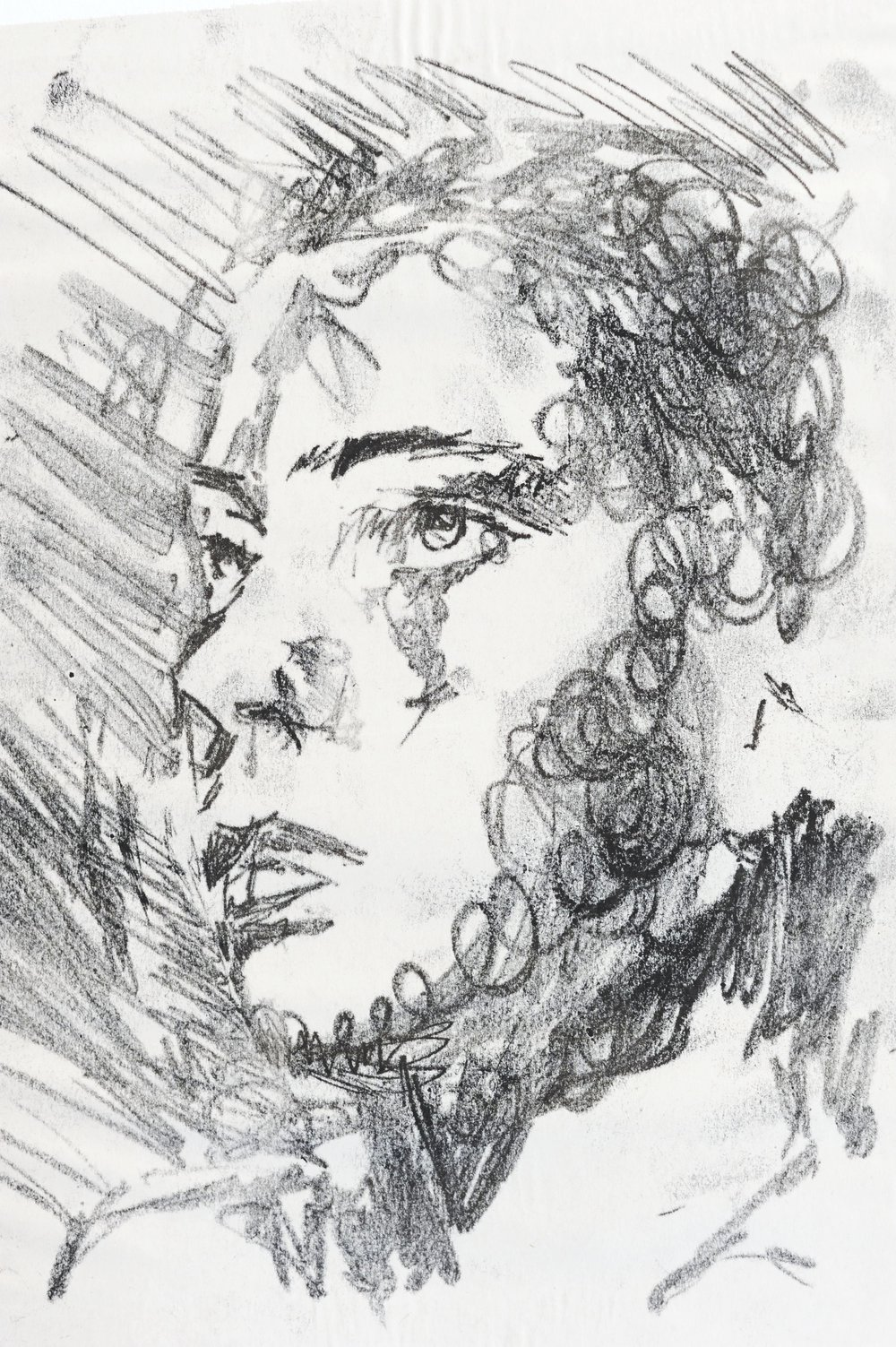 Portrait Etching Study