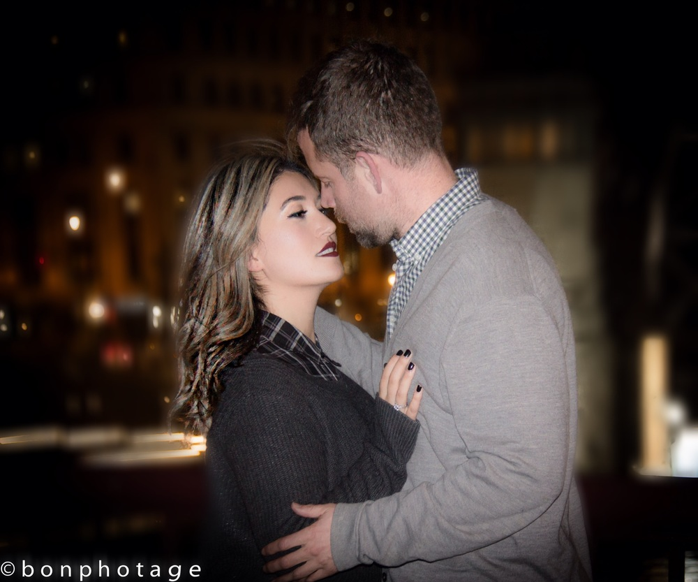 chicago romance photography engagement