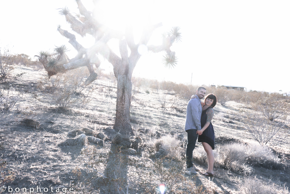 California engagement photography by bonphotage