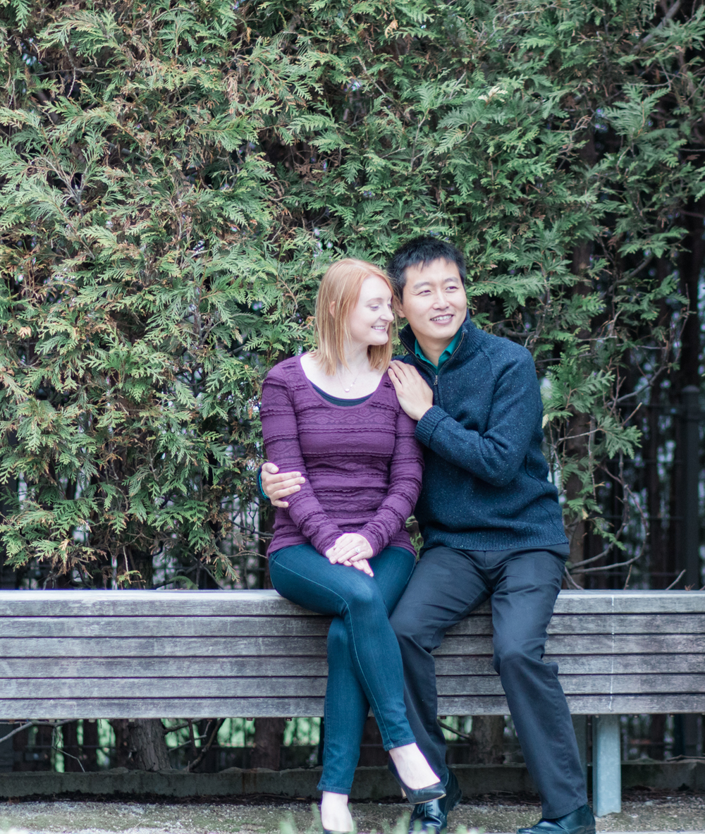 www.bonphotage.com Chicago Engagement Photography
