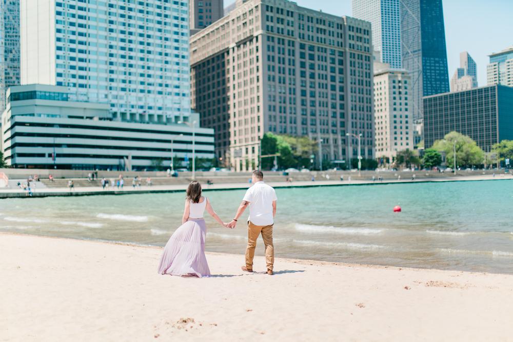 www.bonphotage.com Chicago Engagement Photography