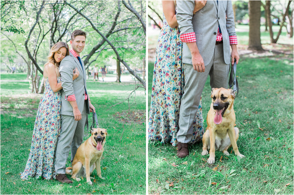 Bonphotage Engagement and Pet Photography