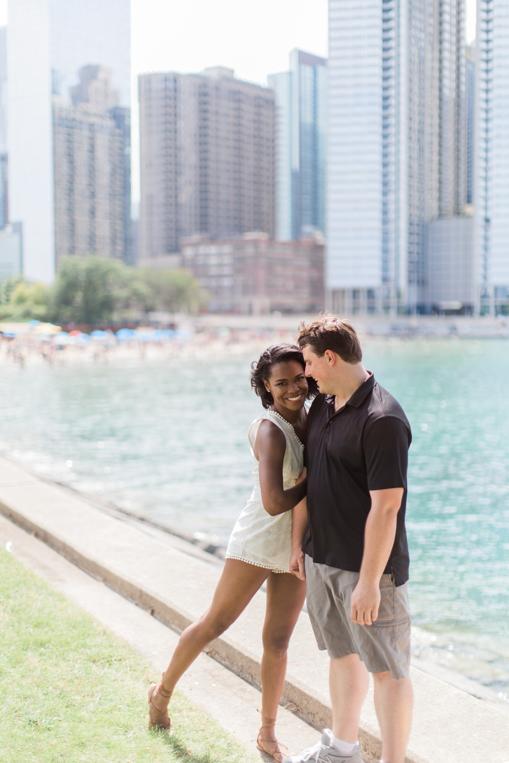 Bonphotage Chicago Engagement Photo