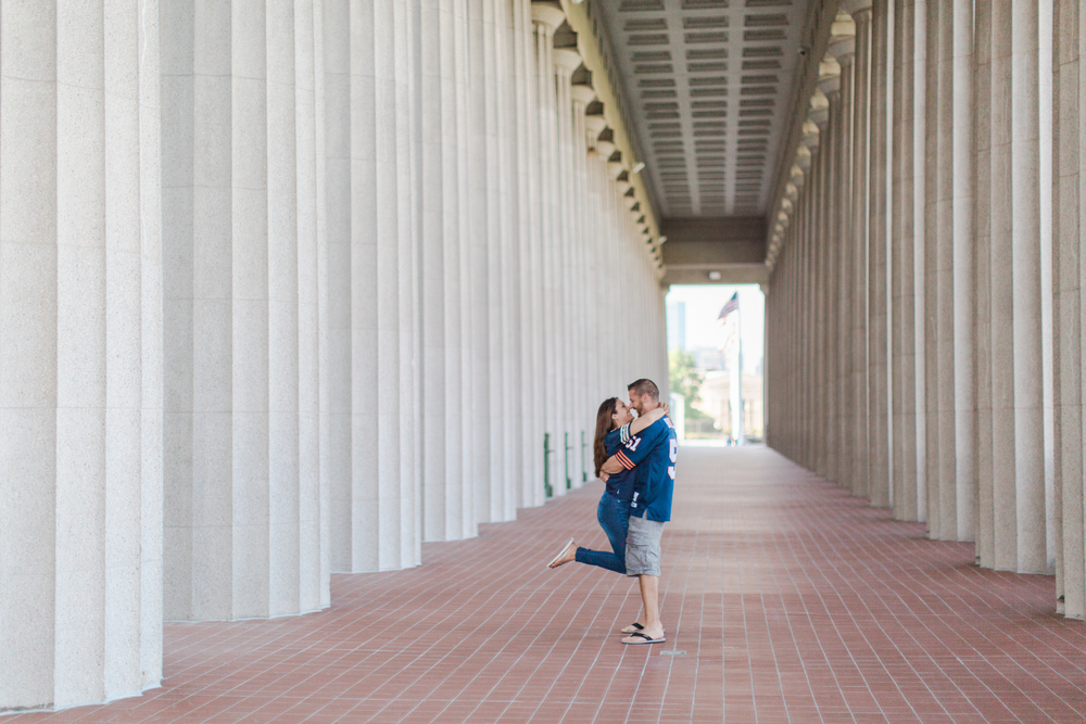 Bonphotage Chicago Solider Field Engagement Photography