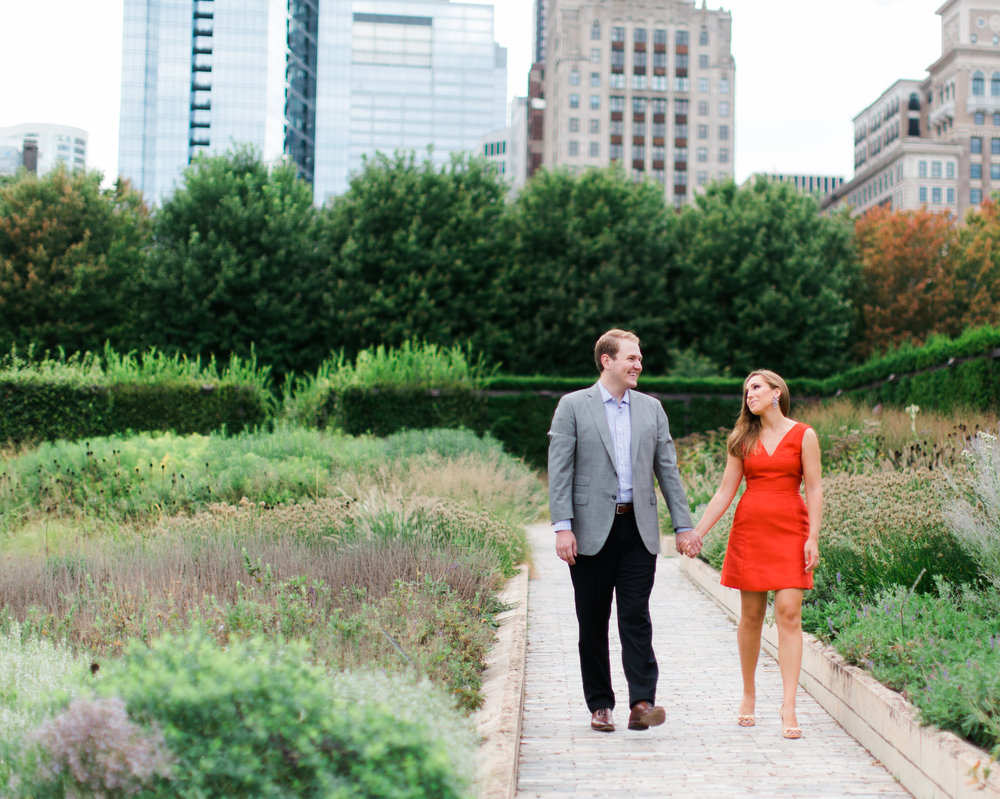 Bonphotage Lurie Garden Engagement Photography