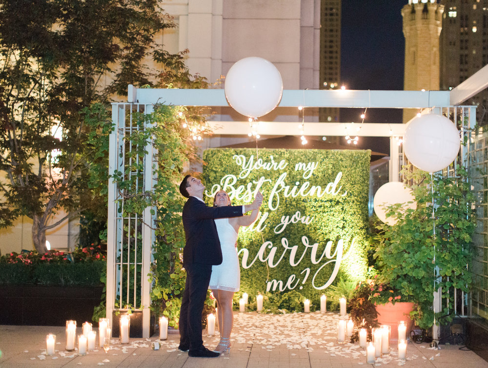 Bonphotage Proposal Photography - Peninsula Hotel Chicago