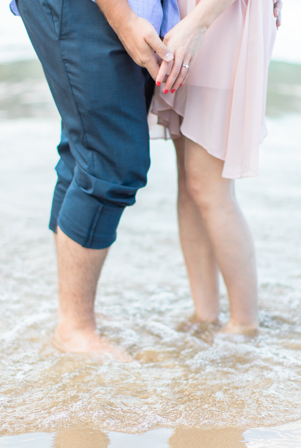 Bonphotage Chicago Lake Michigan Engagement Photography