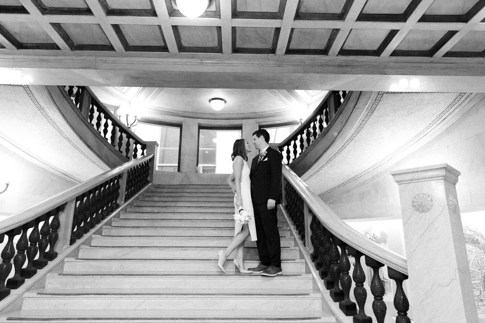 Bonphotage Chicago Cultural Center Wedding Photography