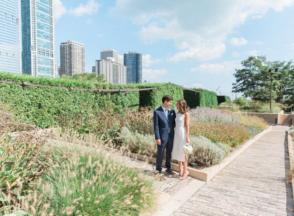 Bonphotage Millennium Park Wedding Photography