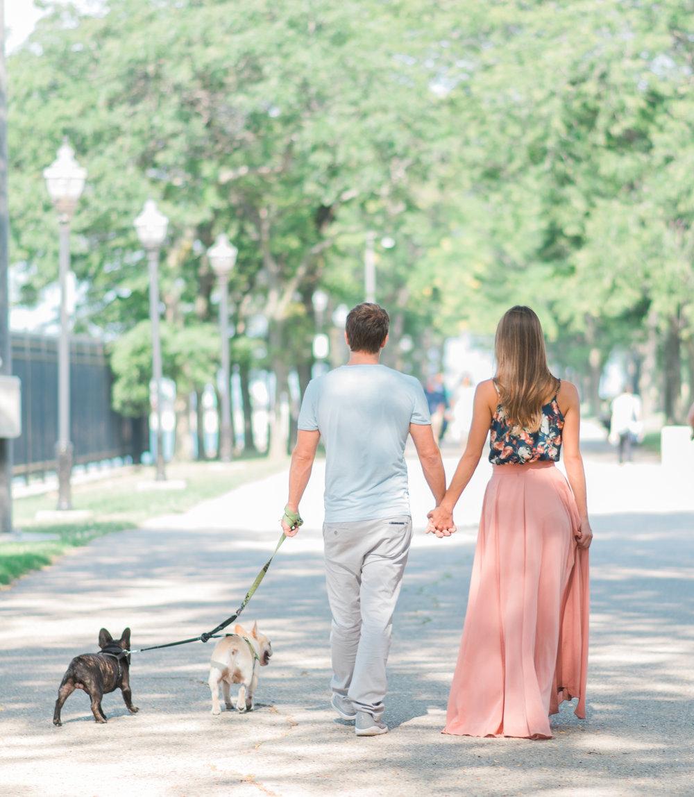 Bonphotage Chicago Engagement Photograph