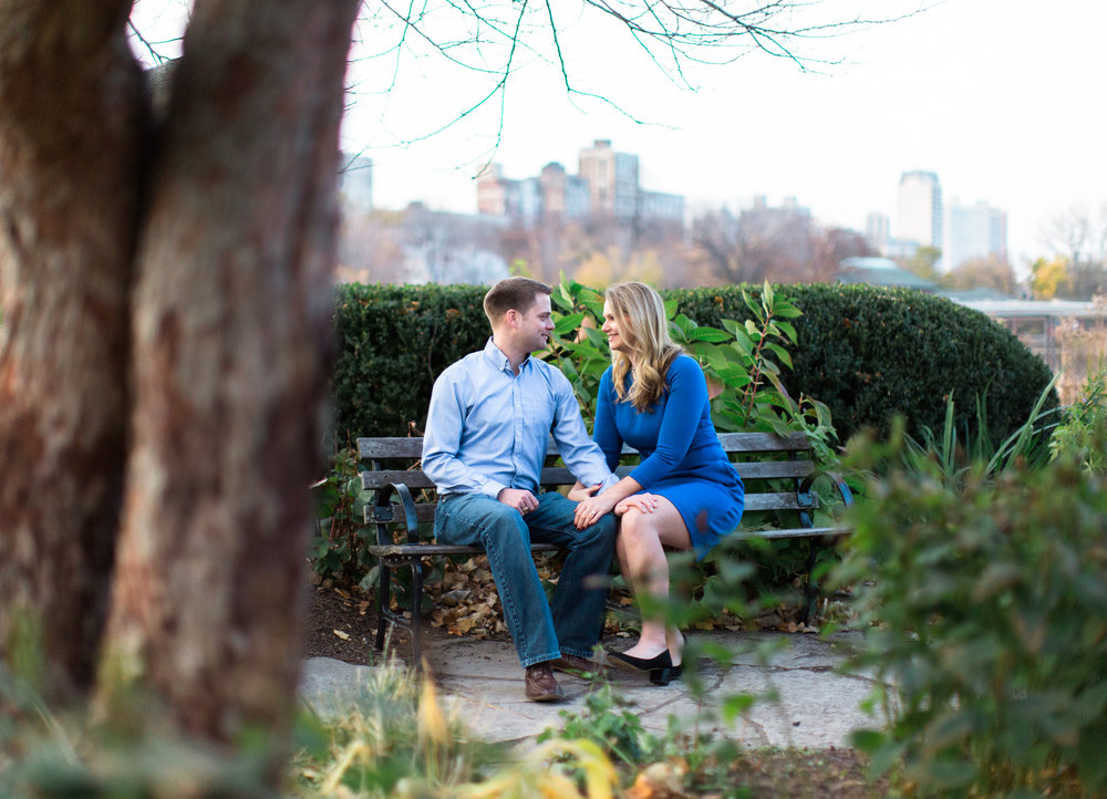 Bonphotage Lincoln Park Engagement Photography