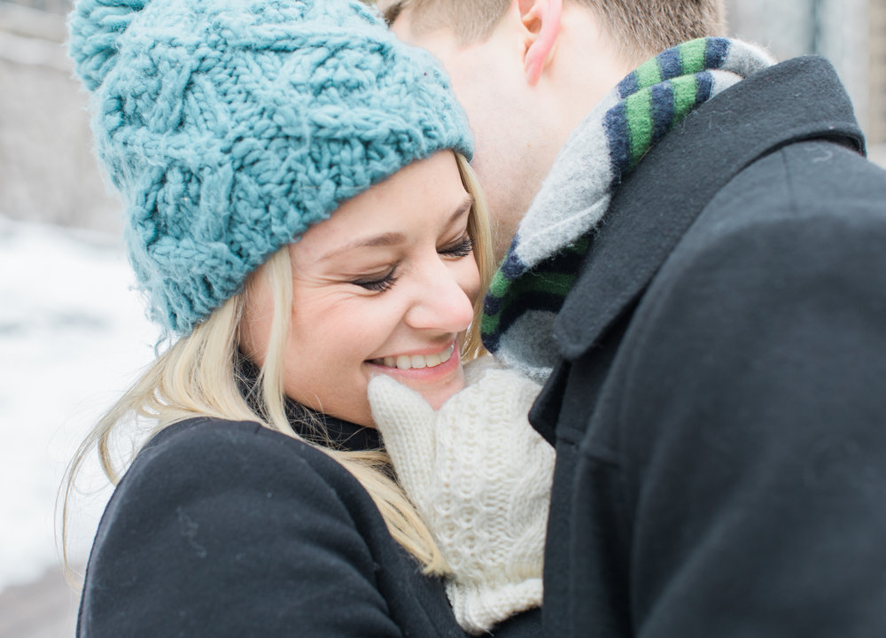 Bonphotage Winter Engagement Photography