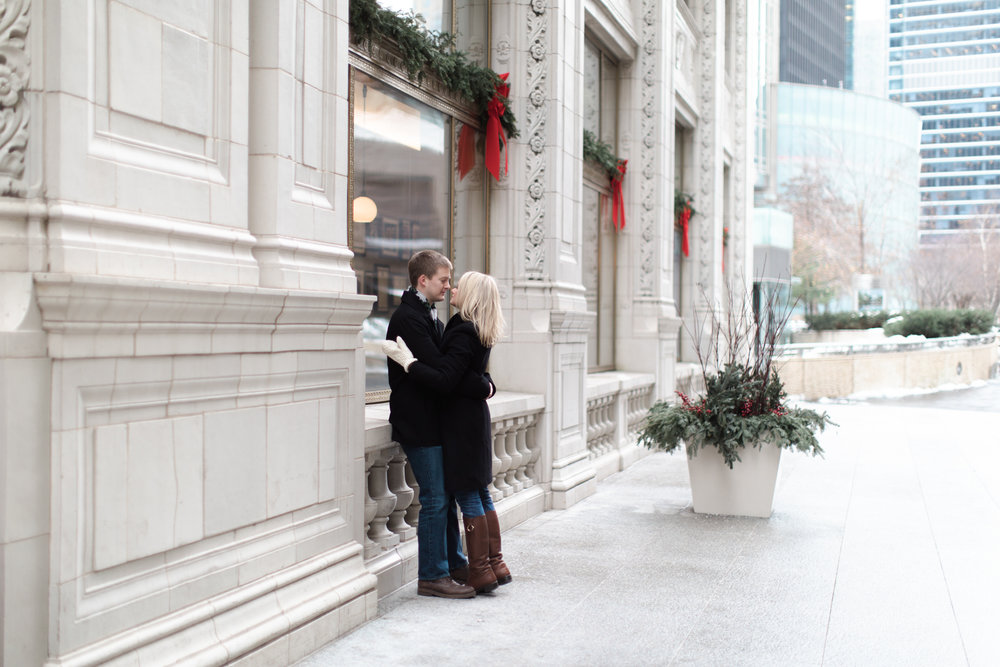 Bonphotage Chicago Winter Engagement Session