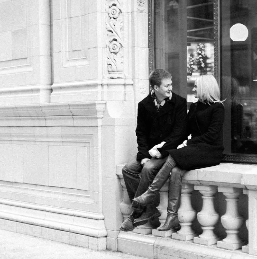 Bonphotage Winter Engagement
