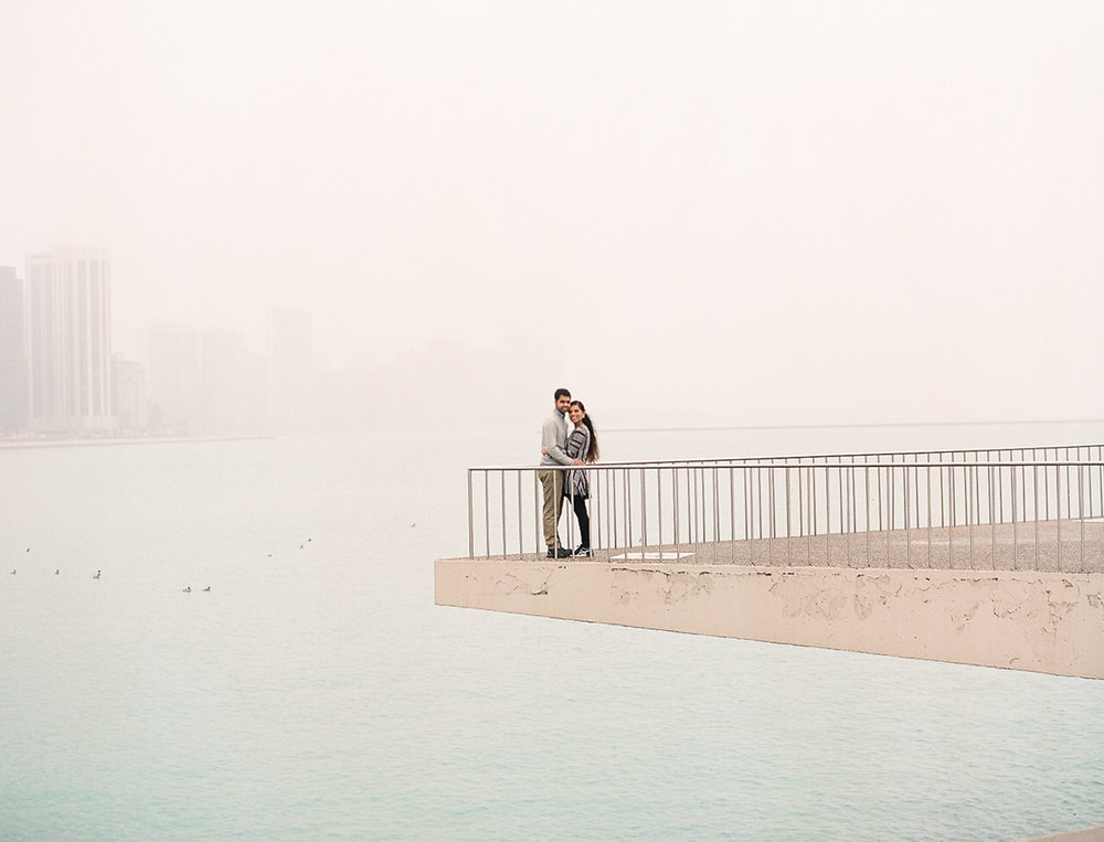 Chicago Fine Art Engagement Photography