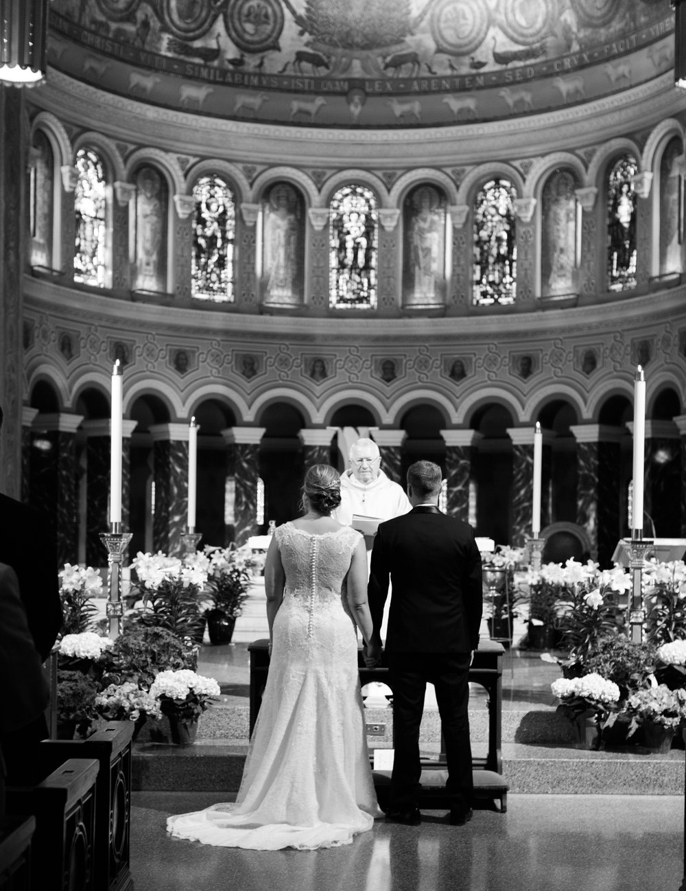 Chicago Fine Art Wedding Photography - St. Clement's Church Lincoln Park