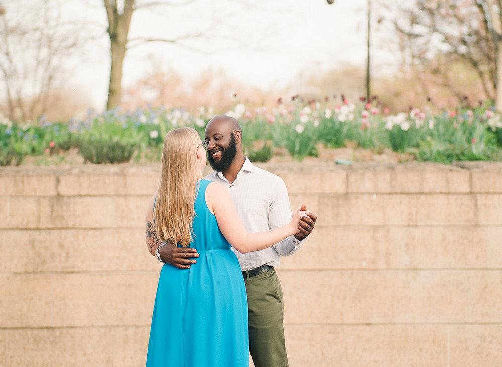 Bonphotage Fine Art Chicago Engagement Photography - Millennium Park