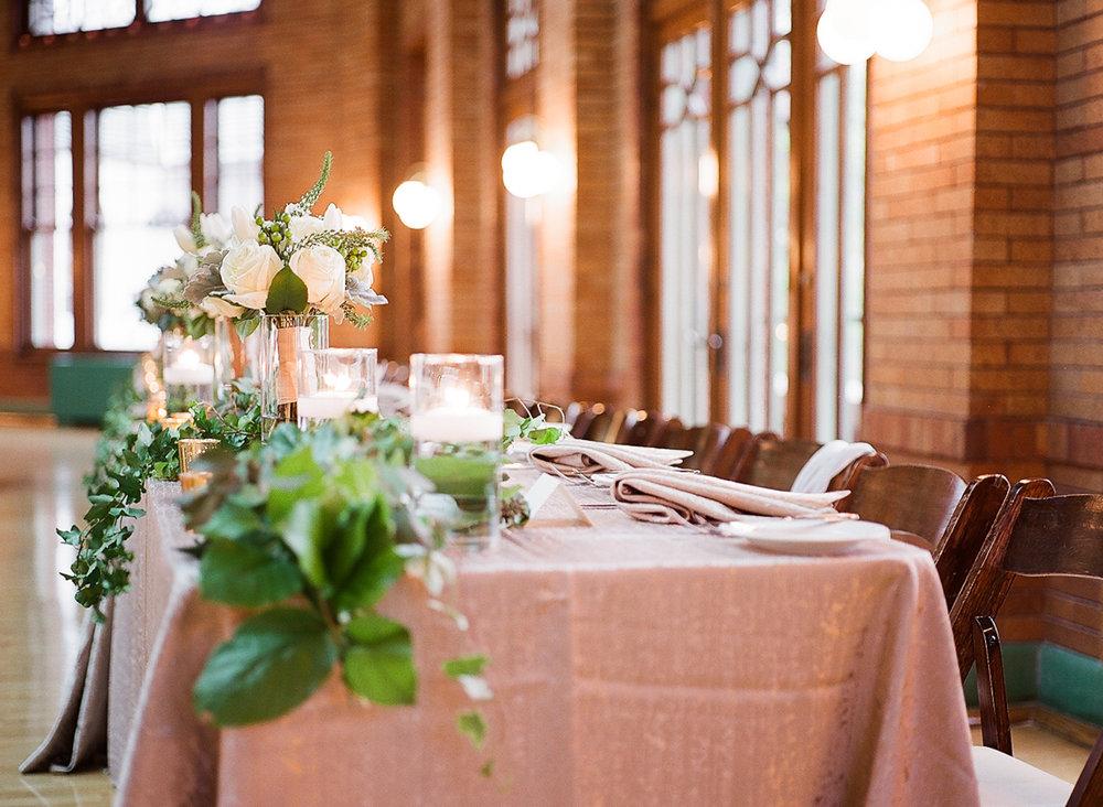 Chicago Fine Art Film Wedding Photographer - Cafe Brauer